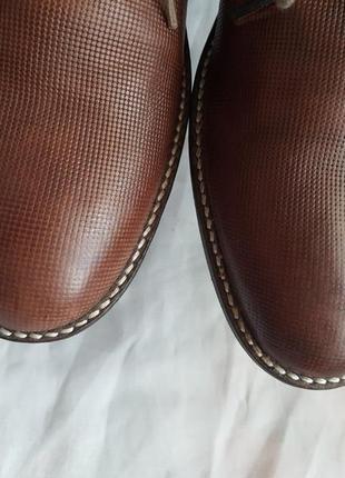 Туфли известного французского бренда san marina 41 р. натуральная кожа6 фото