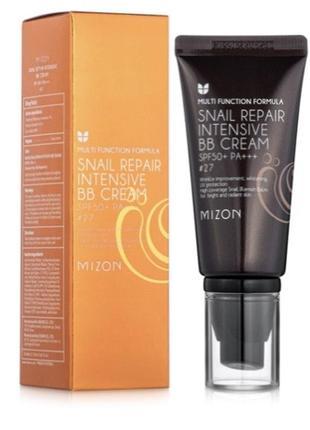 За полцены. тон 23. mizon snail repair intensive bb cream spf50+ ра+++