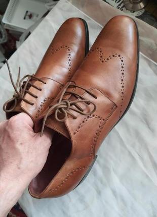 Туфли мужские nicola benson италия, размер 44, натуральная кожа3 фото