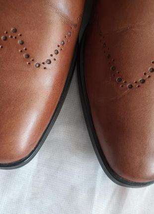 Туфли мужские nicola benson италия, размер 44, натуральная кожа4 фото