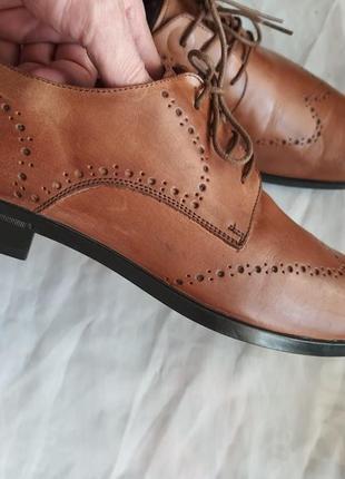 Туфли мужские nicola benson италия, размер 44, натуральная кожа7 фото