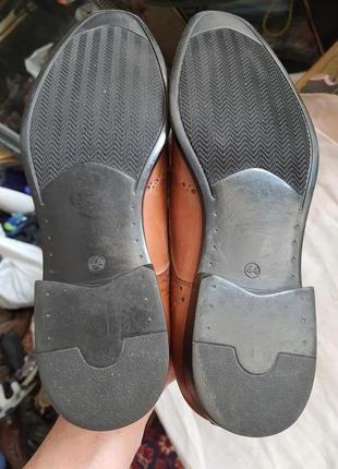Туфли мужские nicola benson италия, размер 44, натуральная кожа8 фото