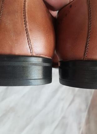 Туфли мужские nicola benson италия, размер 44, натуральная кожа9 фото