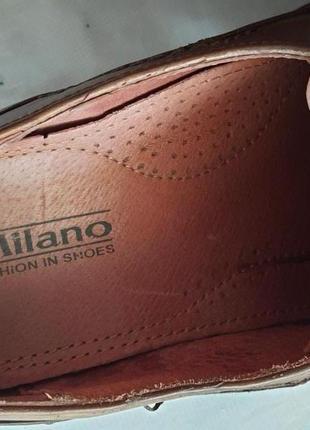 Мужские туфли la milano men's shoes 43р. натуральная кожа2 фото