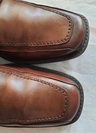 Мужские туфли la milano men's shoes 43р. натуральная кожа3 фото