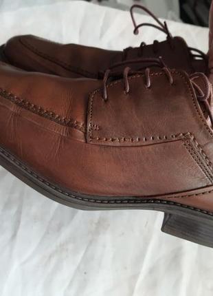 Мужские туфли la milano men's shoes 43р. натуральная кожа4 фото