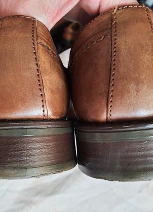 Мужские туфли la milano men's shoes 43р. натуральная кожа6 фото