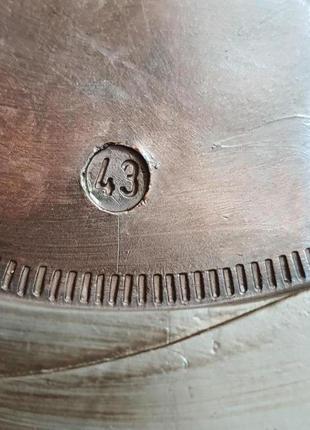 Мужские туфли la milano men's shoes 43р. натуральная кожа9 фото