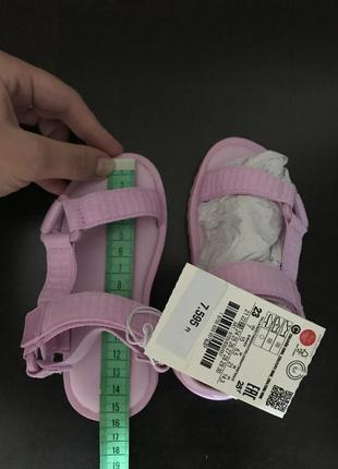 Босоножки сандали трекеры zara💖5 фото