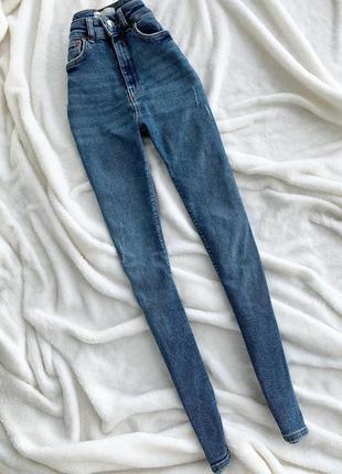 Высокие джинсы zara,размер 34(хс)2 фото