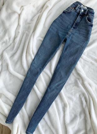 Высокие джинсы zara,размер 34(хс)3 фото