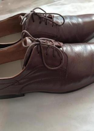 Мужские кожаные туфли класса люкс westland 43 р. германия!