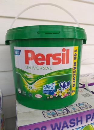 Persil 5 kg. + silan персил 5 kg. + silan пральний порошок універсальний. відро
