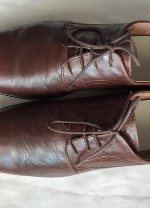 Мужские кожаные туфли класса люкс westland 43 р. германия!4 фото
