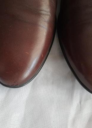 Мужские кожаные туфли класса люкс westland 43 р. германия!7 фото