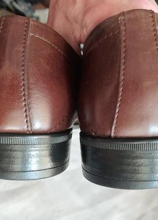 Мужские кожаные туфли класса люкс westland 43 р. германия!8 фото