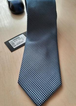 Новый шёлковый галстук dressmann