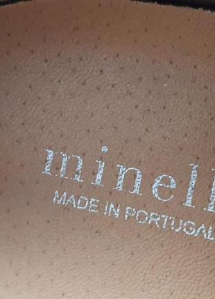 Новые португальские туфли minelli 41 р. натуральная кожа4 фото