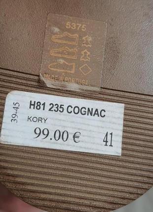 Новые португальские туфли minelli 41 р. натуральная кожа2 фото