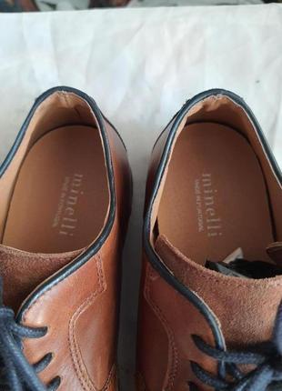 Новые португальские туфли minelli 41 р. натуральная кожа7 фото