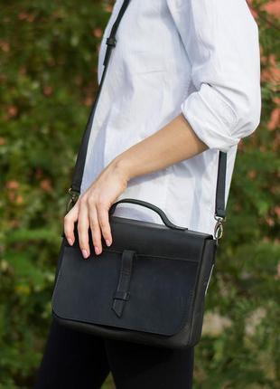 Скидка до 30.09! стильная женская сумка ручной работы из кожи crazy horse
