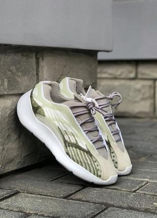 Легкие спортивные кроссовки кеды демисезонные adidas yeezy 7001 фото