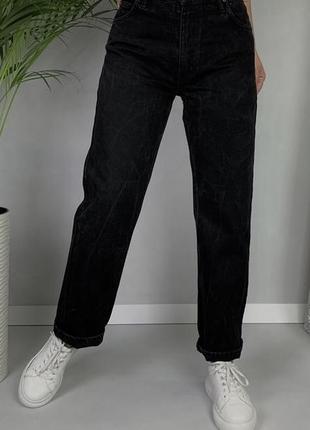 🧨джинсы мом винтаж слоучи джинсы трубы mustang size m