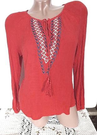 Красивая легкая блузка, размер на l-xl
