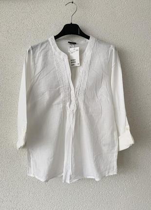 Женская летняя рубашка свободная легкая