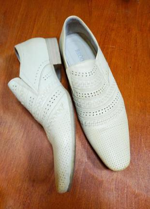 Туфли кожаные 39 р.