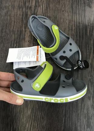 Детские босоножки сандалии crocs c9 c10 c11