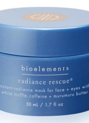 Маска с белым трюфелем bioelements radiance rescue