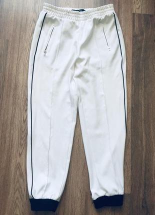Zara спортивные штаны на резинках женские