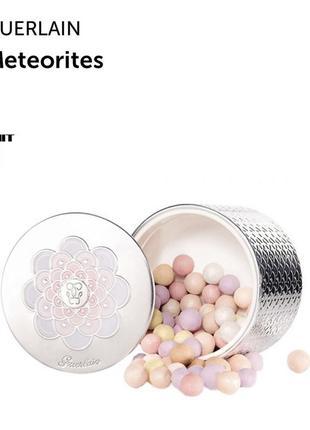 Пудра guerlain meteorites light revealing pearls of powder тон 3 + кисть