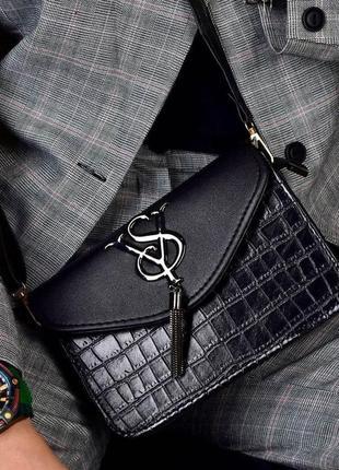 Женская сумка клатч  цыета в наличии: черный, бежевый.