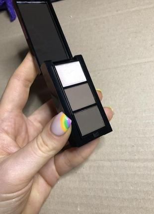 Новые тени для бровей сухая текстура матовые стойкие
