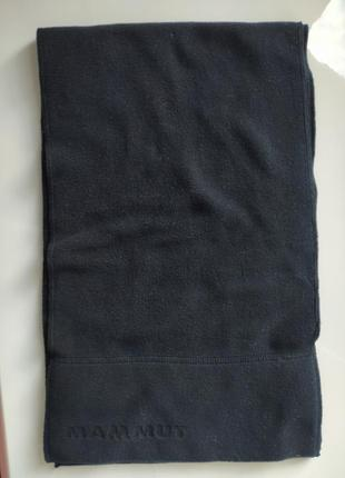Черный шарф mammut2 фото