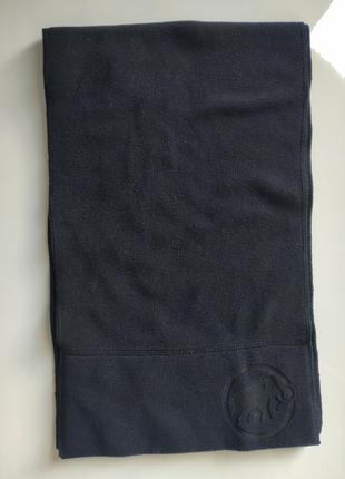 Черный шарф mammut