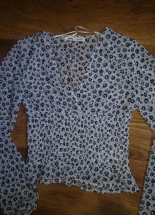 Летняя лёгкая блузка xs
