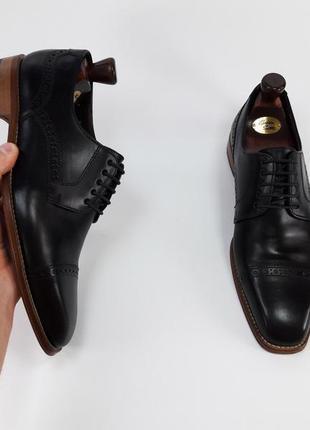 Мужские черные туфли чорні туфлі