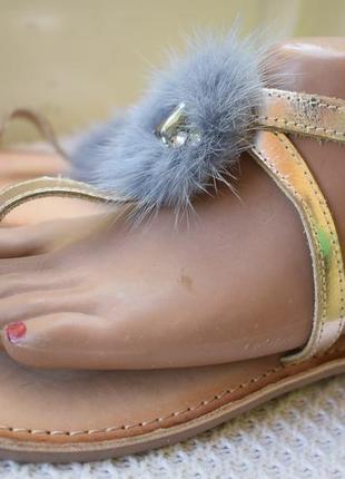 Кожаные босоножки сандали вьетнамки gioseppo р.40 26 см