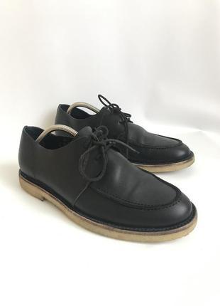 Кожаные туфли от cos 42 брогги