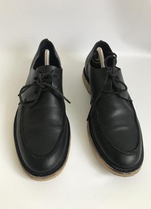 Кожаные туфли от cos 42 брогги3 фото