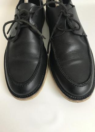 Кожаные туфли от cos 42 брогги6 фото