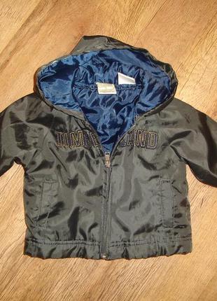 Timberland 12 мес легкая демисезонная куртка или утепленная ветровка , идеальное состояние