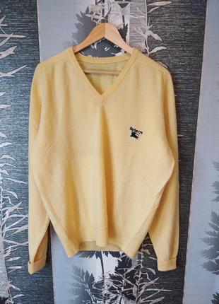 Шерстяной свитер джемпер burberry's