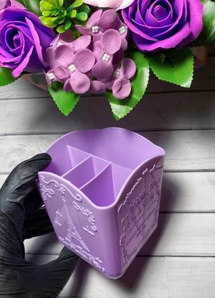 Подставка для кистей и пилок для мастера маникюра3 фото