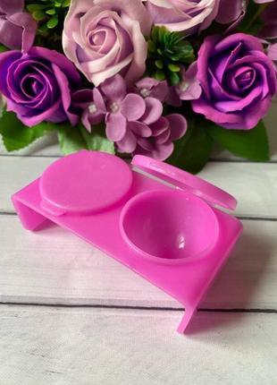 Палитра- контейнер для смешивания красок, двойная с крышкой2 фото