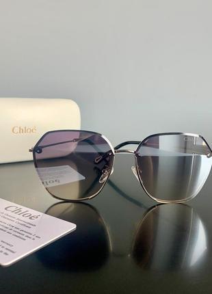 Брендовые очки в металлической оправе. полный комплект, реальные фото