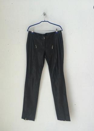 Кожаные брюки tago арт 442